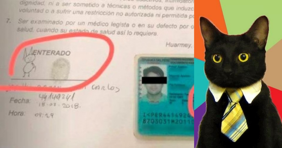 Juan Carlos Varillas Bazan, Peruano Firma Gato, Firma Gatito, Perú, Firmas Chistosas, Peruanos