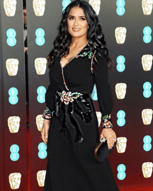 Salma Hayek inspiración de Kim Kardashian