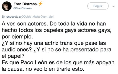 Critican Paco León La casa de las flroes