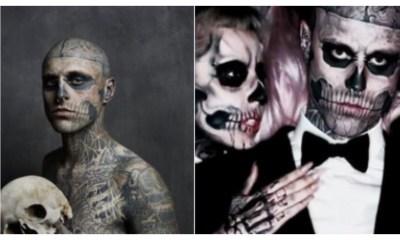 "Lady Gaga Lamenta pérdida Rick ''Zombie Boy"""