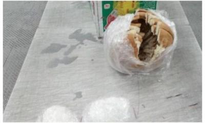 Decomisan droga en el Aeropuerto de Querétaro Pan con cristal