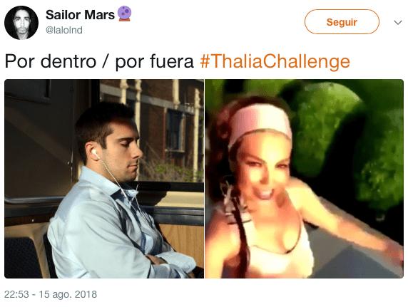 Únete al #ThaliaChallenge para que te mandemos a sentar