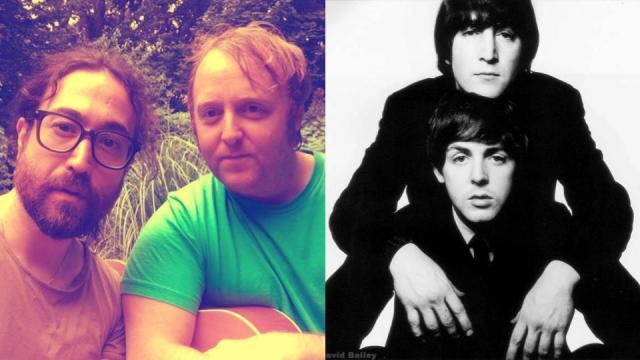 Hijos de Lennon y McCartney se fotografían juntos