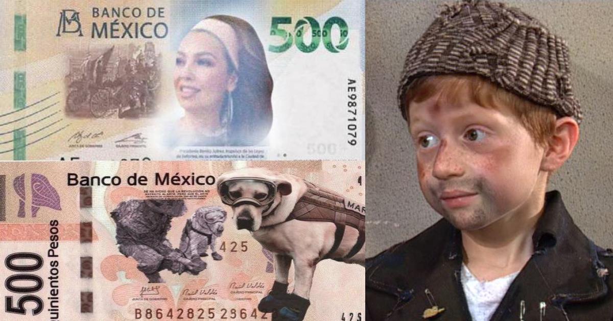 Memes para la llegada del nuevo billete de 500 pesos