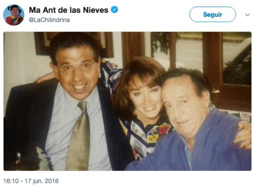 Muere esposa Ruben Aguirre