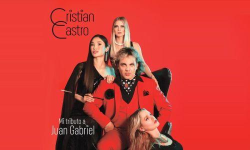 Crisitan Castro hace tributo a Juan Gabriel
