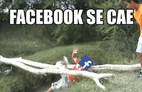 Facebook se cayó y así reaccionó internet