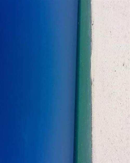Es una puerta o es una playa