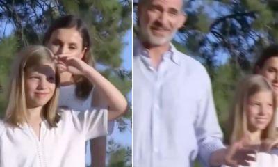 infanta-sofia-reina-leticia-manotazo-video-vacaciones-mallorca