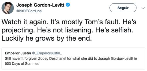 Joseph Gordon Levitt tom