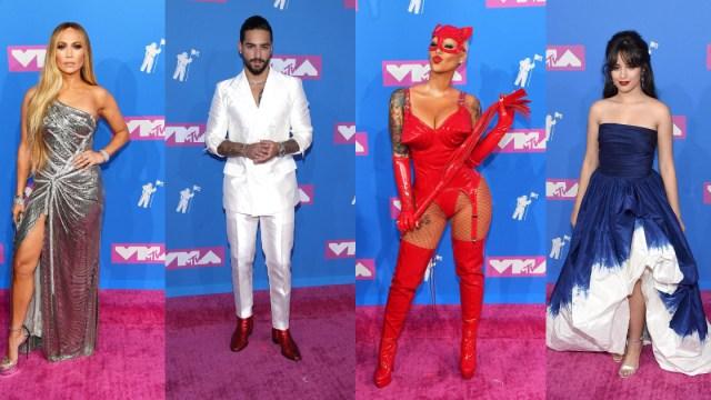 Alfombra Roja VMAS 2018, Mejor, Peor, Vestidos, Cardi B, Ariana Grande