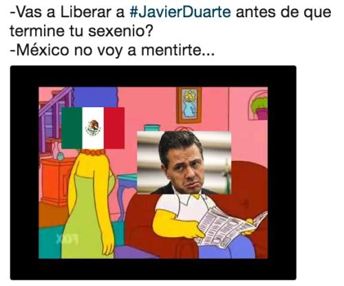 Javier Duarte podría salir de prision