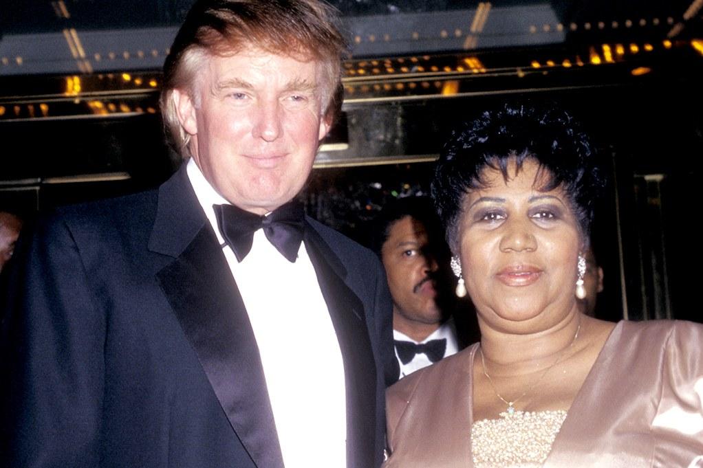 Trump recordará a Aretha Franklin porque 'trabajaba' para él
