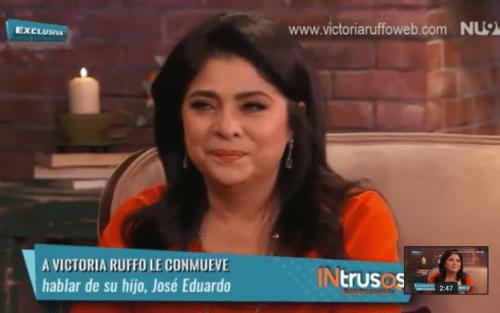 Victoria Ruffo rompió en llanto