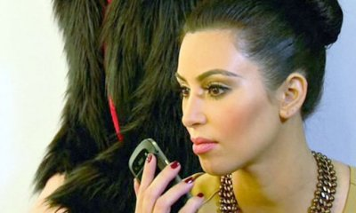 Kim Kadashian Mano Video Selfies Asistente Problema