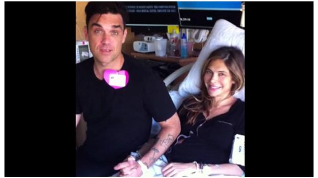 Robbie Williams padre Método de vientre