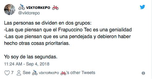 El Tec de Monterrey lanzó su proprio frapuccino