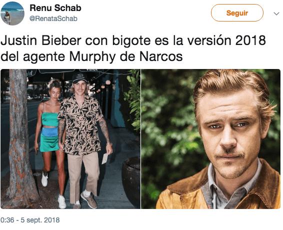 ¿Qué le pasó Justin Bieber, por qué parece hijo de Escobar?