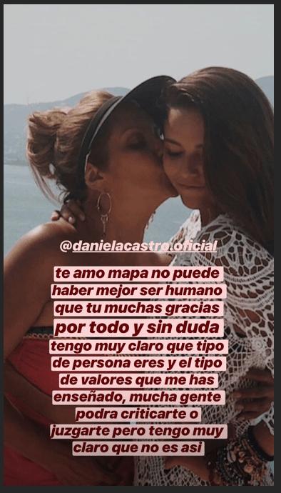 Hijas de Daniela Castro salen en su defensa