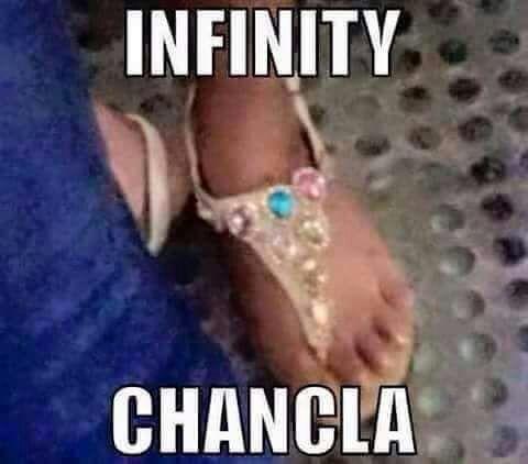 La Chancla del Infinito es real y es canon (algo así)