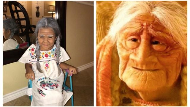 Niña 5 años se viste de mamá Coco Redes sociales Enloquecen