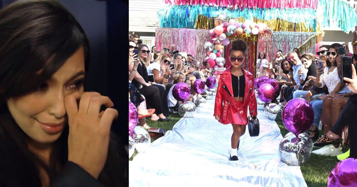Hija Kim Kardashian Debuta Pasarelas, Kim Kardashian North West, Hija Kim Kardashian Modelo, Hija Kanye West, North West, Modelo