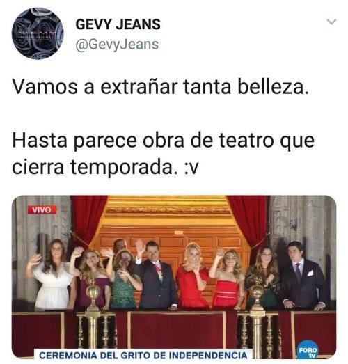 Peña Nieto memes grito de independencia 2018