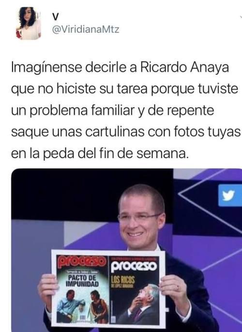 Memes Ricardo Anaya en la UNAM