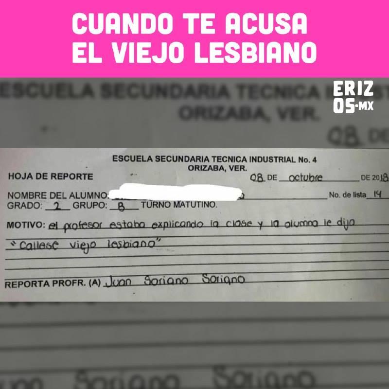 Expulsan a niña de escuela; viejo lesbiano la acusó