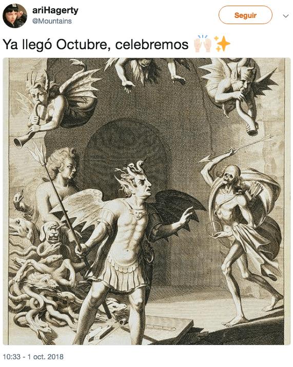 Memes para recibir a Octubre, el mejor mes del año