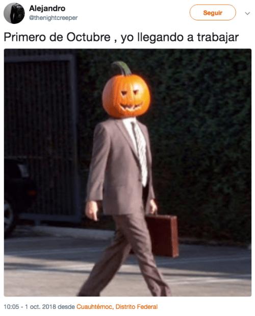 Llegada de octubre