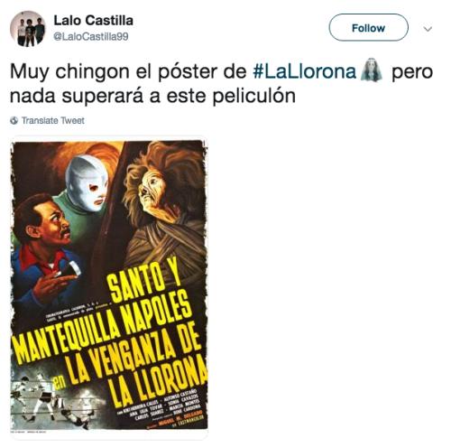 Reacciones al trailer de La Llorona