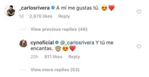 Carlos Rivera y Cynthia derraman miel