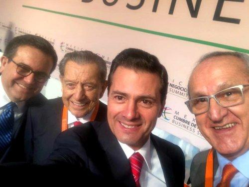 Selfie Pena Nieto Jesús Seade