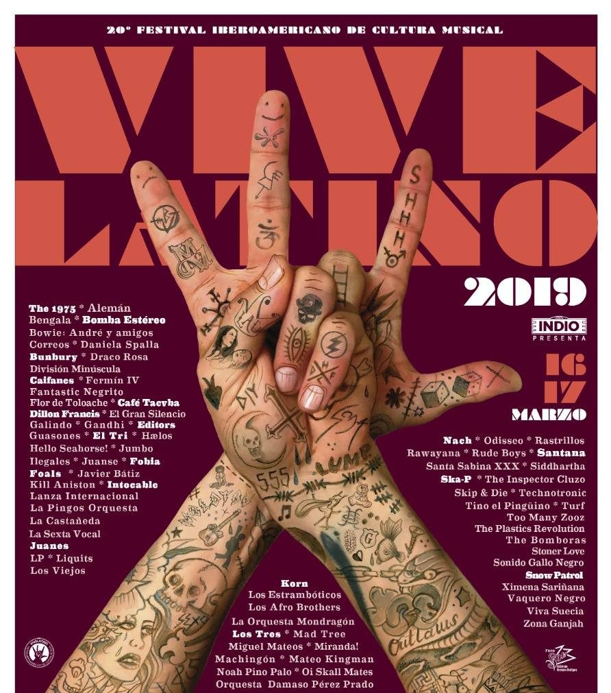 Memes para que sean realidad carteles fake del Vive Latino