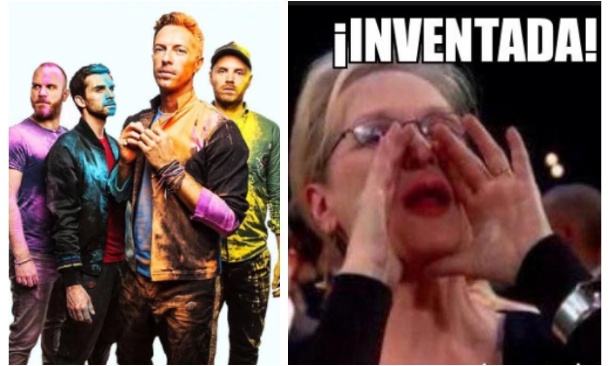 Coldplay decide cambiar su nombre a uno horrible