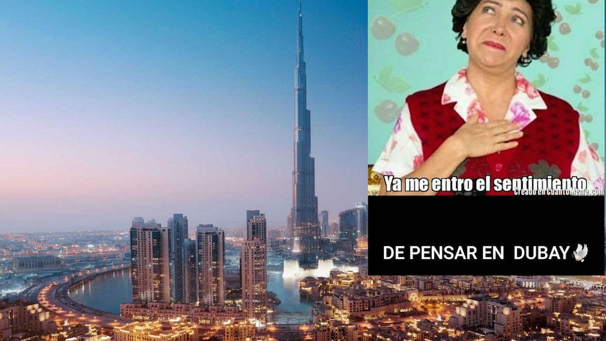 Caravana Migrante Dubai Memes Llevar Mame