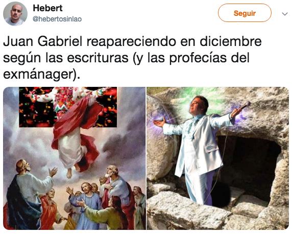 Memes para esperar la venida de nuestro señor Juan Gabriel