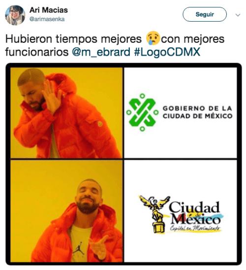 Denuncian plagio del nuevo logo de CDMX
