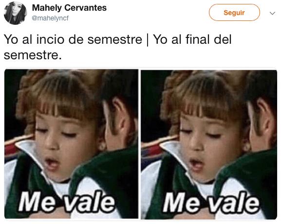 Memes para salvar el semestre o morir en el intento