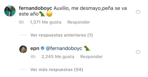 EPN Responde comentarios en Instagram