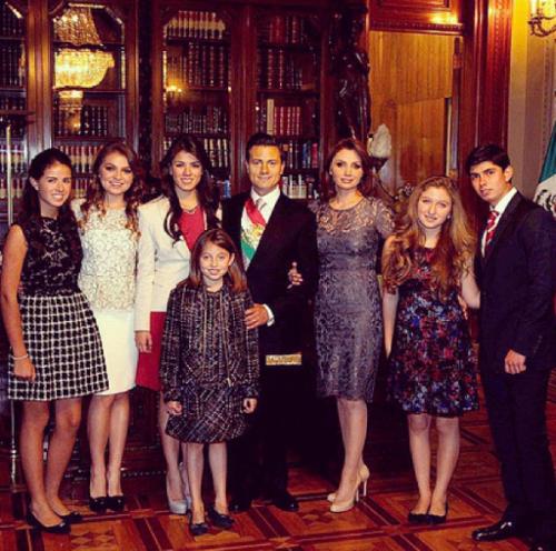 Así ha cambiado la familia presidencial a través del sexenio