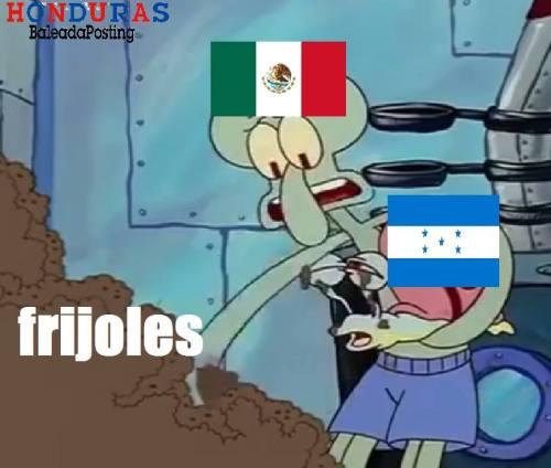 Memes de los frijoles para los hondureños