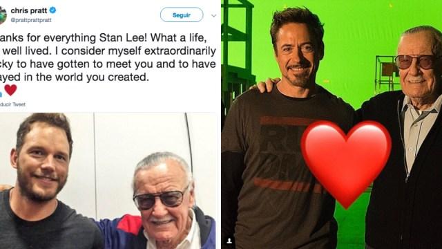 Reacciones Famosos Muerte Stan Lee, Actores Avengers Reaccionan Muerte Stan Lee, Muerte Stan Lee, Stan Lee, Los 4 Fantásticos, Muerte