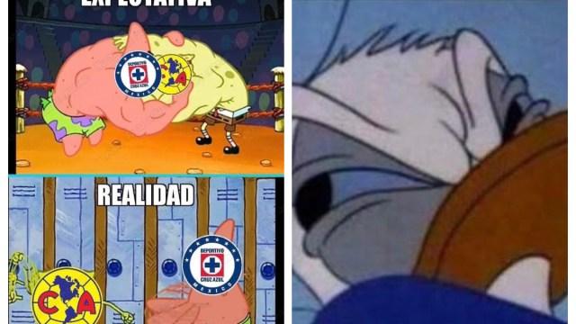 Los mejores memes del aburridísimo partido entre el América y El Cruz Azul