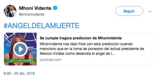 Mhoni Vidente predice muerte de Martha Erika Alonso y Rafael Moreno Valle