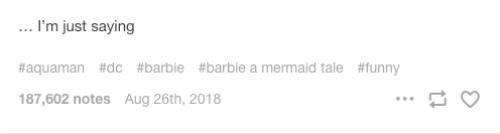 Pruebas de que Aquaman y Barbie son la misma película