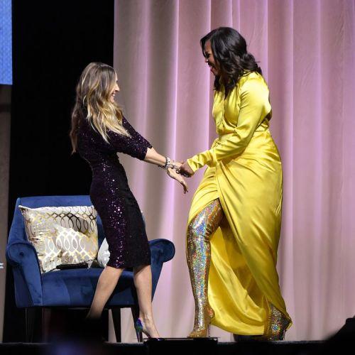 Michelle Obama deja impactados a todos con botas de 4 mil dólares