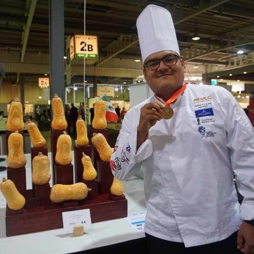 Mexico gana medallas en la Competencia Culinaria Mundial