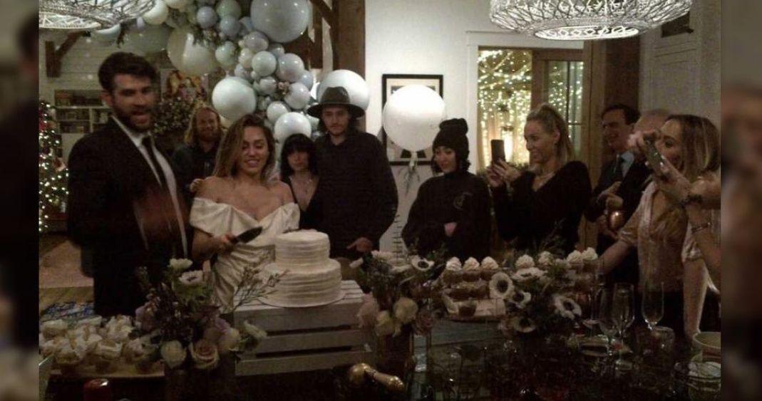Fotos de la boda de Miley que sí quiere que veas
